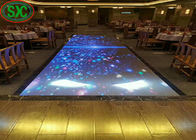 SMD3528 light up dance floor 320x160mm led module , 960 x960mm led cabinet