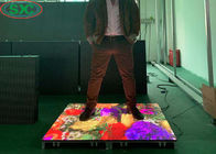 Interactive Floor LED Dance Floor P8.928 12580mm Pixel Density 1/7 Scan Constant Current