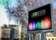Rgb 3 In1 Advertising LED Screens Billboard Display 6mm Pitch 27778 Dots / Sqm