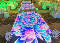 6.25 Mm Smd Digital Dance Floor Full Color , Stage Starlight Dance Floor For Outdoor