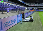 Sports perimeter stadium led display banner , advertising led perimeter system solution