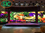 WIFI 3G Stage LED Screens HD Indoor P4 Video Wall Background 32 Scanning Nova System