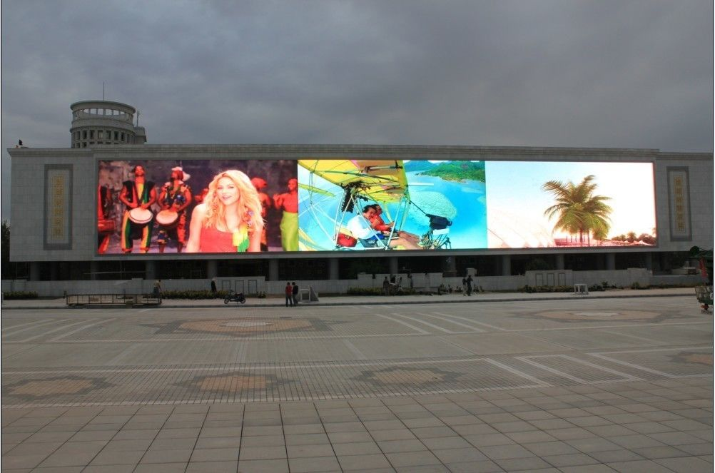exterior P16 DIP LED sign screen,high definition road billboard