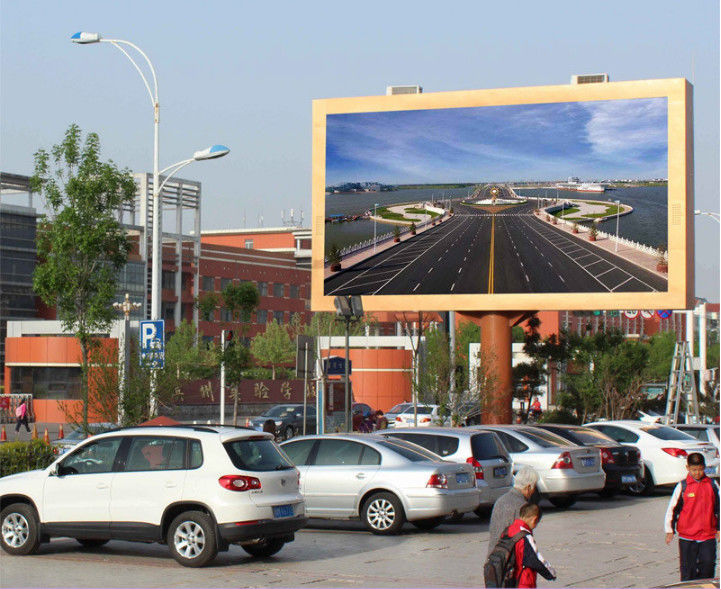 Weatherproof Outside Rental Led Screens , Led Video Display Board High Refresh Frequency