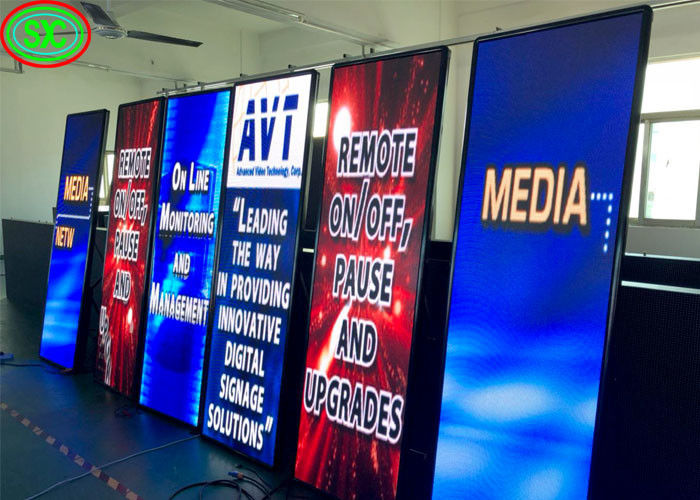 P2 P2.5 P3 P4 Indoor Led Advertising Screen , Full Color Outdoor Advertising Led Display
