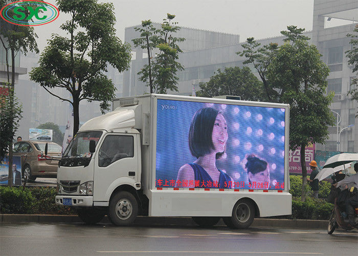 6mm Pitch Outdoor Mobile Car LED Sign Display Advertising Truck Movie Video For Media
