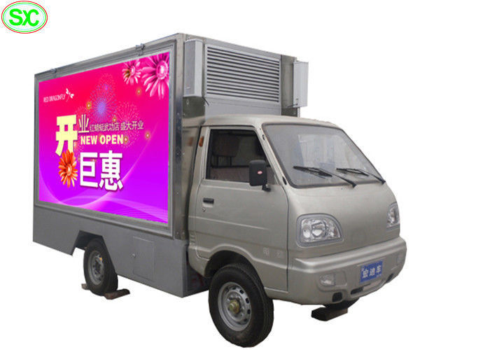 P4 Mobile Outdoor HD Truck LED Display 60Hz Frame Rate 5 Years Warranty