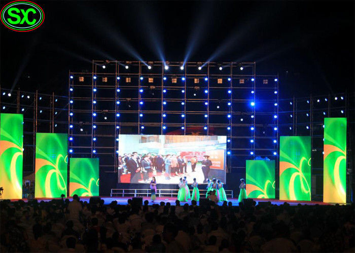 High Definition Video Stage Led Panel Display With Die Casting Almuinum Cabinet