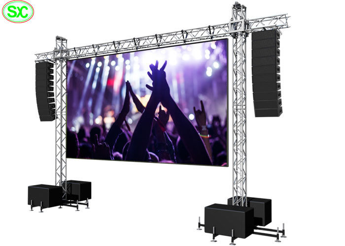 P4 outdoor indoor Stage led screen for rent led backdrops for stage