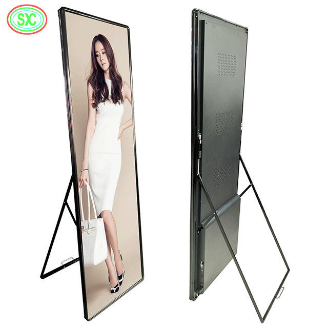 HD SMD P2.5 Indoor Full Color Led Poster Screen 3840Hz Fresh Rate For Advertising