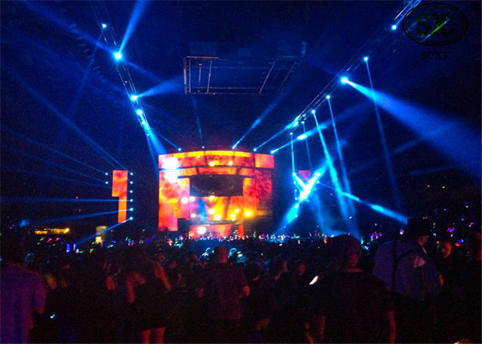 High brightness digital electronic P10  Stage LED Screens , 160mmx160mm