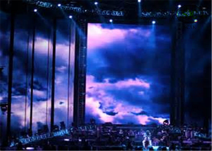 SMD5050 IP68 Waterproof P37.5mm  Curtain LED Display For Music concert
